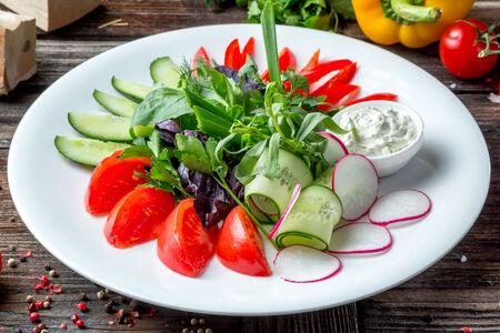 Таралка сезонных овощей