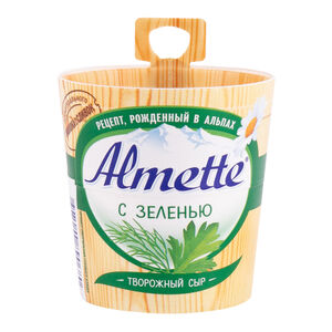 Сыр творожный Almette 60% зелень