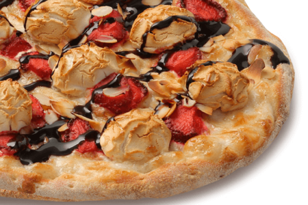 Пицца Клубника и зефир