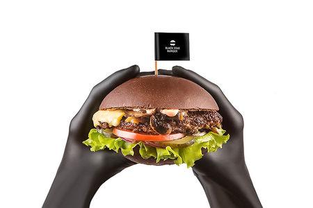 Бургер Грибной двойной с говядиной