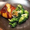 Фото к позиции меню Филе лосося с брокколи