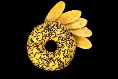 Пончик банановый
