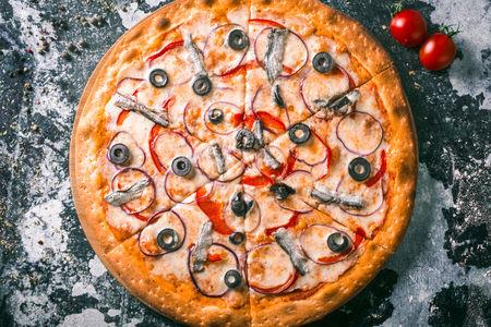 Пицца Анчоус