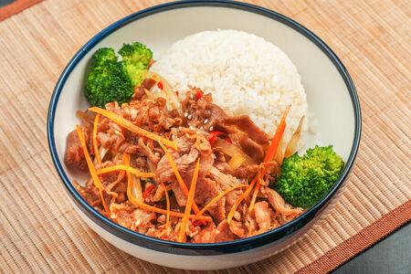 Феню с рисом