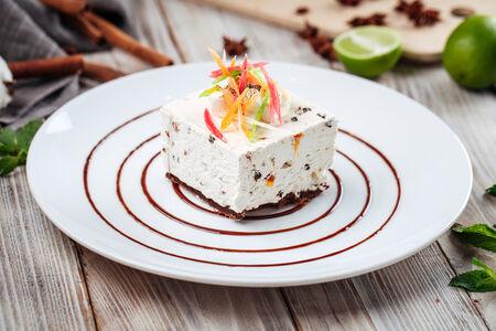 Снежный десерт