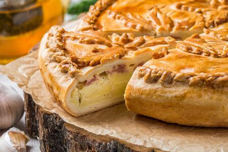 Пирог Сливочный картофель