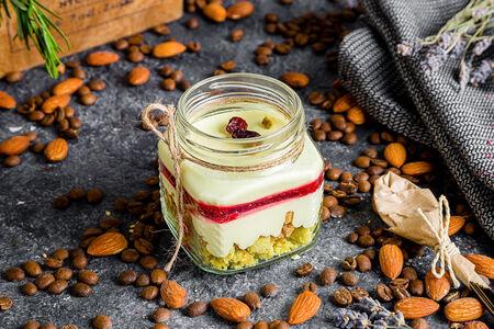 Десерт Фисташка-вишня
