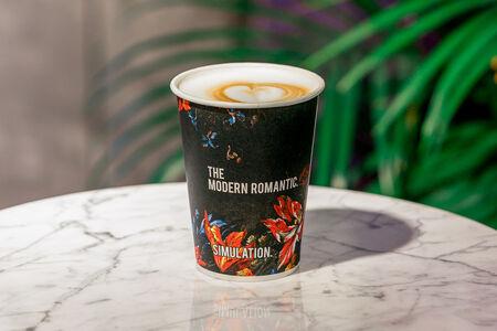 Кофе Малиновый латте L