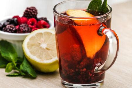 Чай Не чайный Садовые ягоды