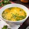 Фото к позиции меню Куриный суп-лапша