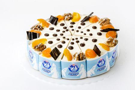 Торт Марракеш с натуральными сливками