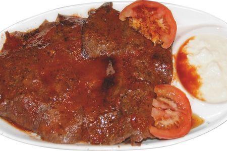 Искандер кебаб с говядиной