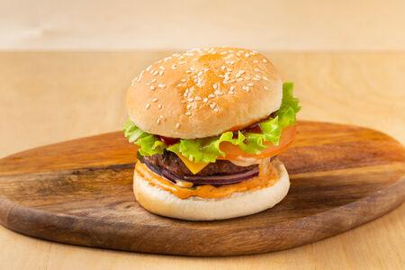 Бургер BQ с бифштексом мини