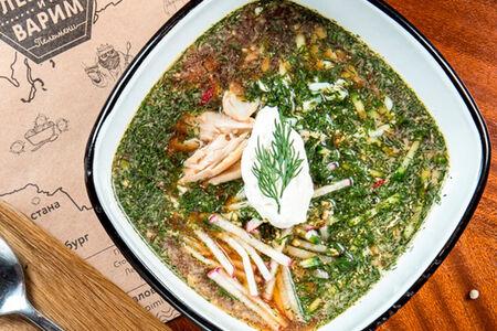 Суп Окрошка на квасе
