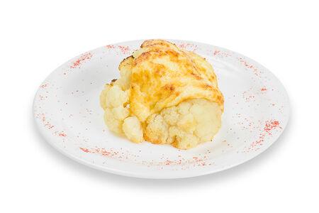 Цветная капуста запеченная с сыром