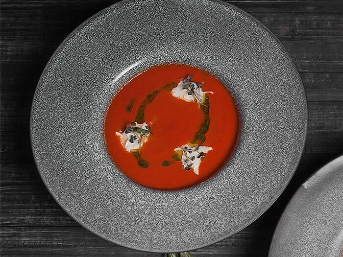 Суп Томатный со страчателлой