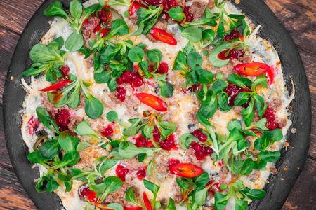 Пицца Адская