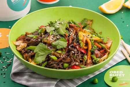 Вок Баранина с овощами