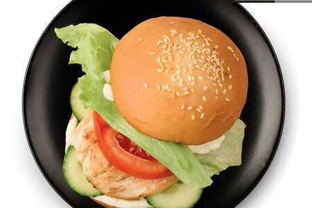 Мини-бургер