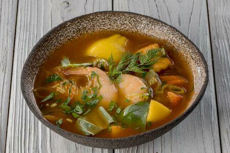 Суп рыбный Буйабес