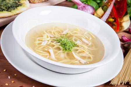 Куриный суп с капеллини