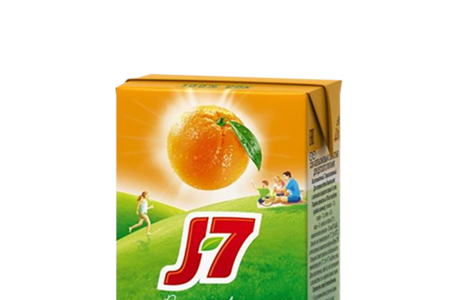 Сок J7 апельсин