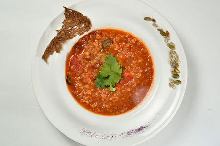 Суп Чечевичный с томатами