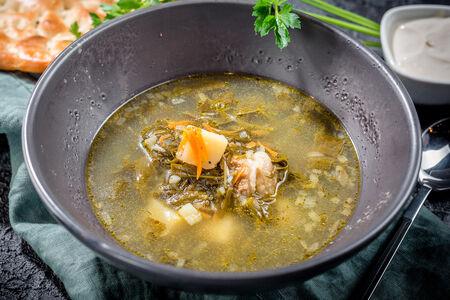 Суп Щи зеленые с телятиной
