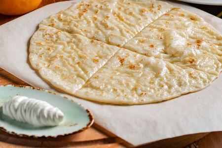 Хычин с сыром и картофелем