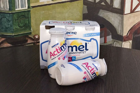 Натуральный йогурт Actimel Danone