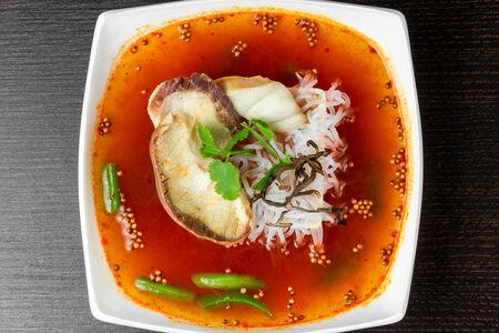 Сычуаньский суп с акулой