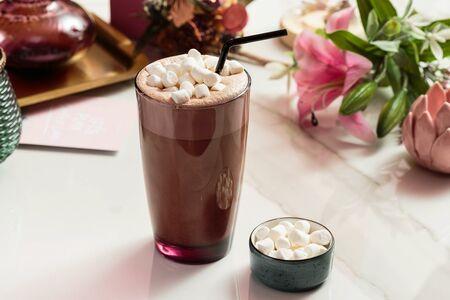 Какао на ореховом молоке