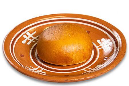 Пирожок печёный с картофелем и лесными грибами