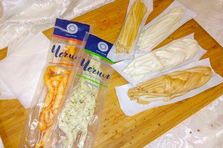 Сыр рассольный в вакуумной упаковке