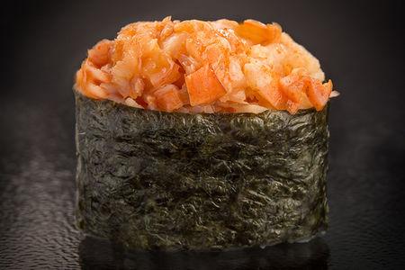 Суши острые с креветкой