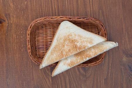 Тост из ржаного хлеба