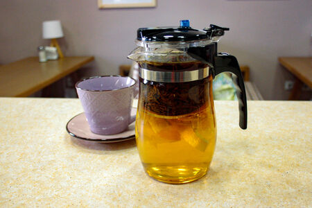 Чай апельсин-розмарин