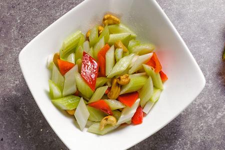 Микс овощей с кешью
