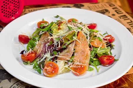 Салат из семги барбекю
