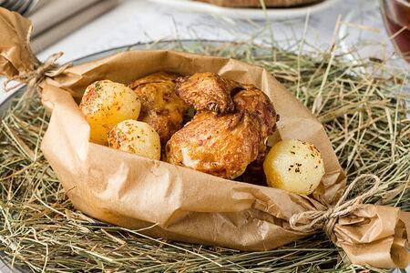 Запеченный французский цыпленок