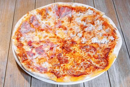 Пицца Кватро карне