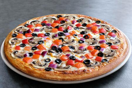 Пицца Вегетарианская Три сыра маленькая