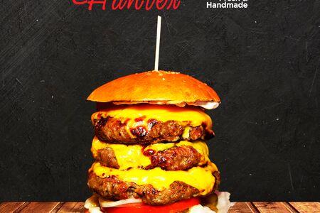 Чизбургер тройной Генри Хантер