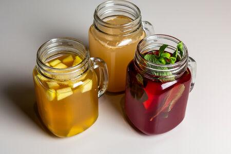 Напиток Малина и апельсин