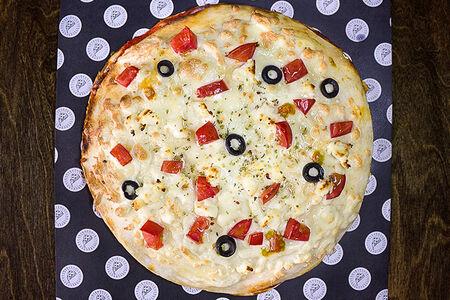 Пицца Полный фарш с курицей и говядиной