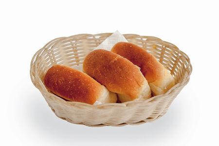 Хлебная булочка белая