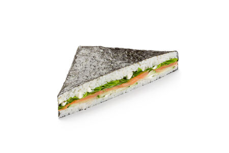 Суши-сандвич с лососем