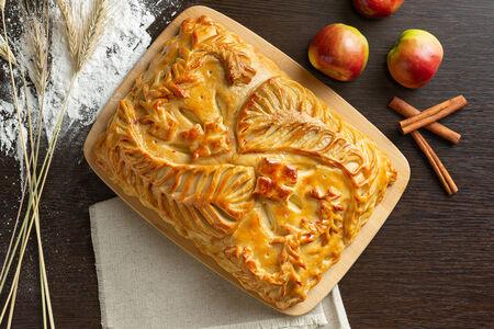 Русский пирог Яблоко