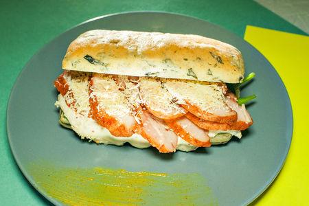 Сэндвич с курицей тандури