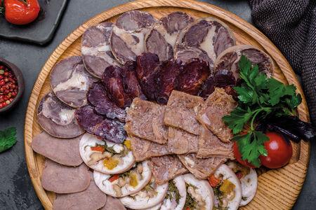 Домашнее мясное ассорти